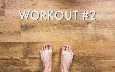 Barefoot Office Workout #2!
